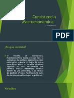 Consistencia Macroeconomica