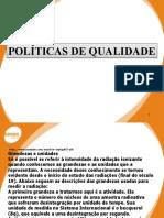 POLITICAS DE QUALIDADE