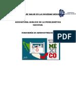 Problemas de Salud en La Sociedad Mexicana - Copia