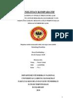 Perbandingan Tingkat Prestasi Belajar Mahasiswa S1 PGSD Berasrama Banjarbaru Yang Sering Dan Jarang Memanfaatkan Perpustakaan Sebagai Sumber Belajar