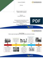 Linea de Tiempo Legislacion Laboral Colombia