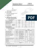 13007s transistor de fuente de pc sirve como amplificador de audio