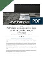 Petrobras assina contrato para venda de quatro campos terrestres.pdf
