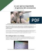 BBC Mundo - por qué es importante secuenciar el genoma del coronavirus - 20Marz2020