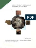 Córdoba - Variaciones Cronológicas y Regionales de La Cerámica Azteca III Tardía - 2014