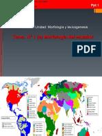 PPT 1 (a) Morfología del español