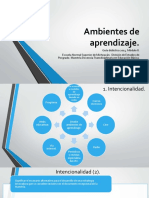 Ambientes de aprendizaje - Manuel Paniagua Marín
