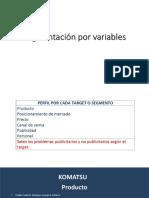 Segmentacion x variables