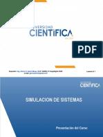 Capitulo 01 - Presentacion Simulacion de Sistemas v 2020