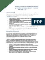 Propuesta de implantación de un sistema de gestión de seguridad y salud en el trabajo para la empresa MAJESCA S.docx