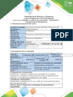 Guía de actividades y rubrica de evaluación - Actividad 3 - Caracterización Bioquímica (1)