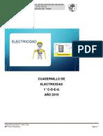 Cuadernillo Electricidad1°2019