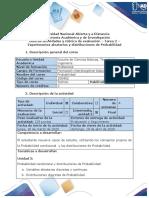 Guía de actividades y rúbrica de evaluación - Tarea 2 - Experimentos aleatorios y distribuciones de probabilidad.pdf