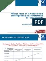 Rogelio Conde Pumpido. Nuevos retos en la Gestión de la Investigación y la Transferencia de Conocimiento