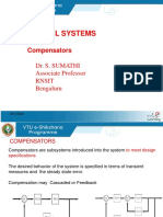Compensator for Control system