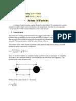Luni Karlina Manik. MECHANIC. J1920.Bphy18. TR-5.System Of Particles