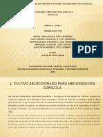 Informe fianal de maquinaria y mecanizacion agricola fase 3 power point