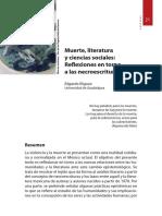 Muerte, literatura y ciencias sociales - Edgardo Íñiguez