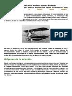 La aviación en la Primera Guerra Mundial.docx