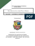 Ordenanza municipal y clasificador Mun. Jose Feliz Rivas, la Victoria.pdf