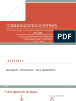 Lesson 13 - Pulse modulations