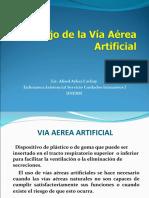 MANEJO DE LA VÍA AÉREA ARTIFICIAL