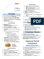 Classical Period Music Reviewer 9