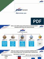 JSW Cement Ppt