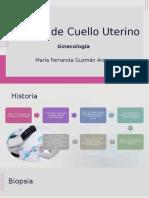 Biopsia de Cuello uterino