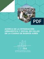 Informe_Integracion Socio Urbana de Villa de la Ciudad de Buenos Aires