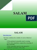 Bai Salam & Istisna