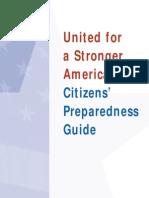 Citizens Preparedness Guide