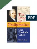 M.B.W. Tent - The Prince of Mathematics