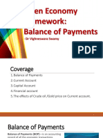30-31. Open Economy Framework - Balance of Payments & Globalization