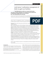 Registered Nurses Medication Management of the Elderly in Aged Care Facilities