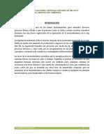 Informe de Fisica II Termodinamica