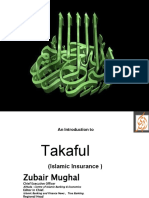 Takaful for S.A by Zubair Mughal