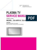 LG DU-50PX10 Plasma TV Service Manual