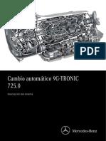 Manual transmición automática mercedes benz
