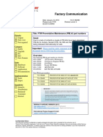 IR2382 FTIR Preventative Maintenance (PM) kit part numbers