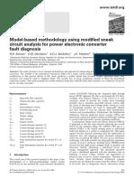 Sneak circuit for power electronics
