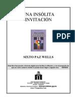 Paz_Wells_Sixto_-_Una_Insolita_Invitacion