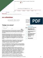 'Amigos em comum' - 31_10_2013 - Pasquale - Ex-Colunistas - Folha de S.Paulo.pdf