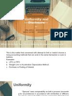 Uniformity and Disclosure, Billy & Saikou.pptx