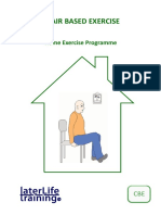 Chair Based Exercise Programme Booklet