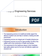 Hospital Engineering Services - Dr. R N Basu