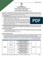 Edital Convocacao Pre-matricula - 1 Chamada Sisu 2020.1 - Incluindo Convocados
