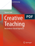 (Cognitive Science and Technology) Dennis Sale - Creative Teaching_ An Evidence-Based Approach-Springer (2015).pdf