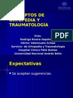 CONCEPTOS DE ORTOPEDIA Y TRAUMATOLOGÌA