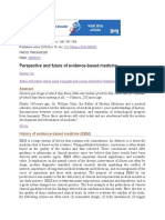 Perspective and future of evidence-based medicine.docx